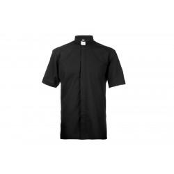Czarna koszula kapłańska...
