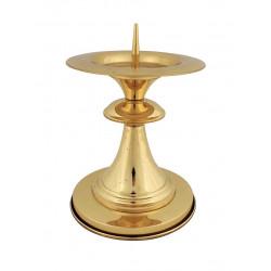 Lichtarz mosiężny złoty LB10